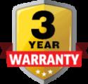 3year warranty