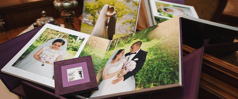 Wedding album and photos